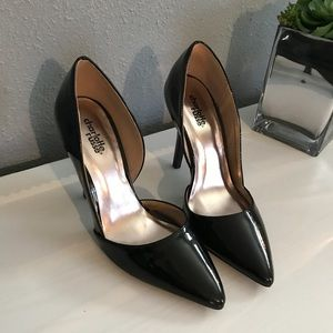 Charlotte Russe Black Patent Stiletto Heels